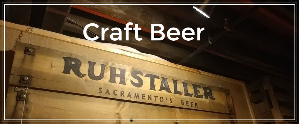 Ruhstaller logo and signage for their Sacramento taproom.