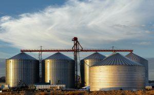 Barley Storage for malting throughout year.